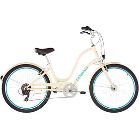 "Electra Townie Original 7D EQ 26"" Damer, cream"